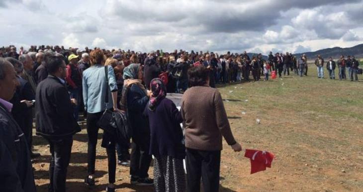 Aleviler yaşam alanlarında mülteci kampı istemiyor!