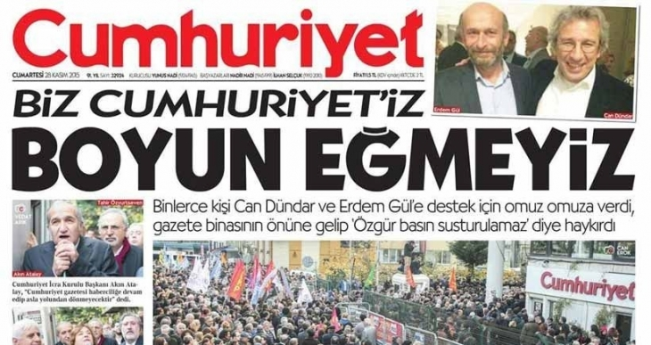 Cumhuriyet'e 18 gün ilan kesme cezası!