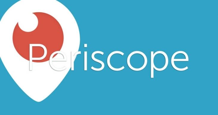 Periscope'ta her gün, 110 yıla denk gelen video izleniyor