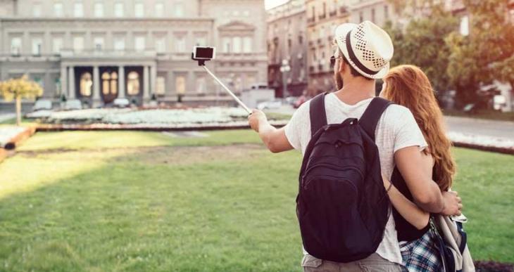 Türkiye selfıe çubuğu kullanımında dünya üçüncüsü!