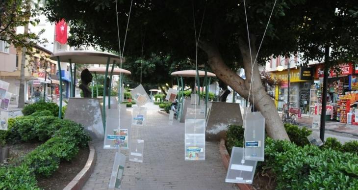 Tarsus'ta ağaçlar kitap açtı