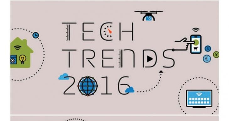 2016'ya damga vurması beklenen teknoloji trendleri