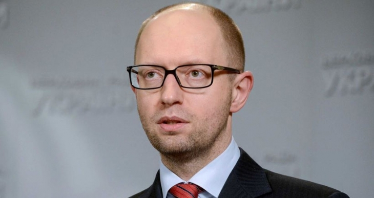 Ukrayna Başbakanı Arseniy Yatsenyuk istifa etti
