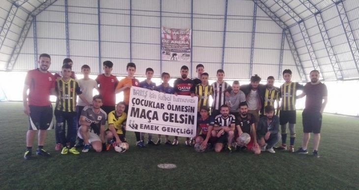 Van'da 'Barış için futbol turnuvası'nda finale kalanlar belli oldu