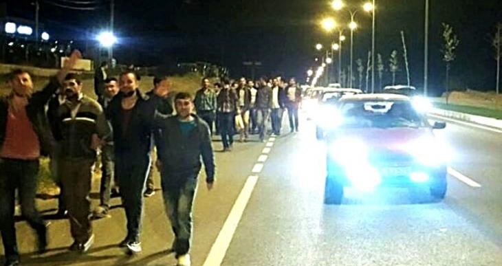 Petlas işçilerinin eylemine polis saldırdı: 4 gözaltı