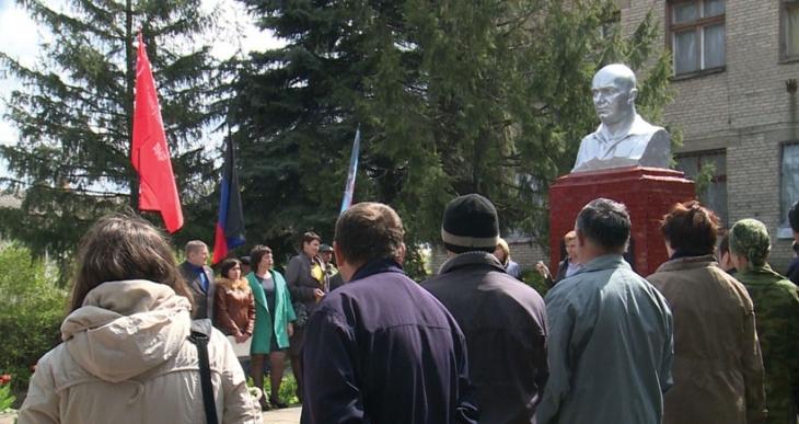 Alman komünist Thaelmann Donetsk'te anıldı