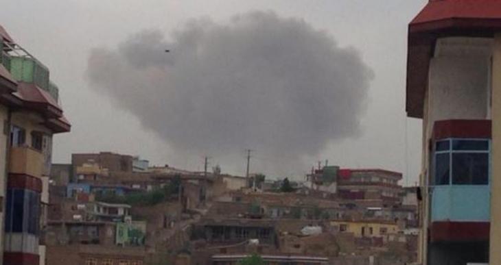 Afganistan İstihbarat Merkezi'ne bombalı kamyonla saldırı