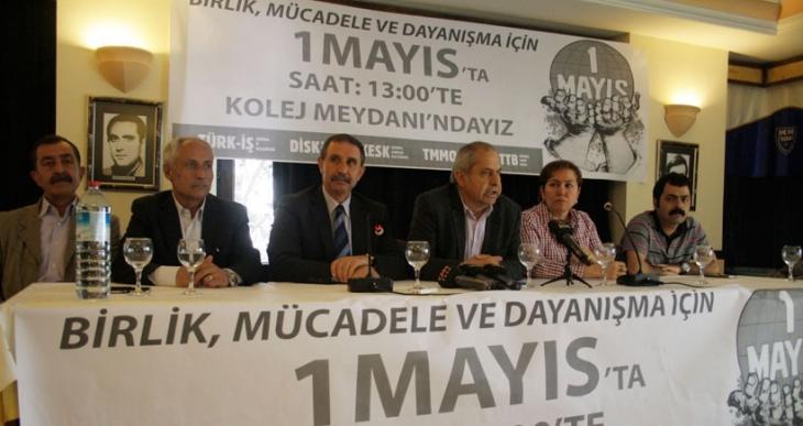 Ankara'da ortak 1 Mayıs Kolej Meydanı'nda kutlanacak