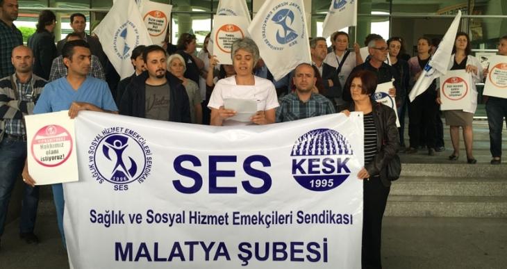 Malatya SES: Fiili hizmet süresi zammı istiyoruz!