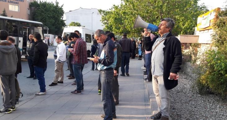 Esenyurt'ta işçilere 1 Mayıs'a çağrısı yapıldı