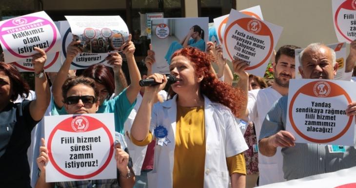 SES İzmir: Yıpranıyoruz, hakkımızı istiyoruz