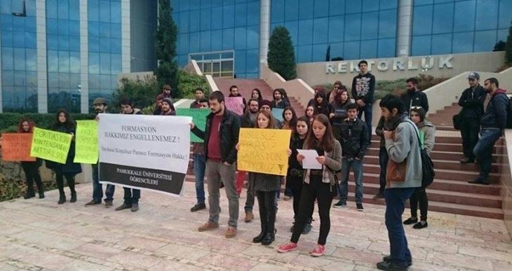 Pamukkale Üniversitesi 1 Mayıs'ı konuşuyor