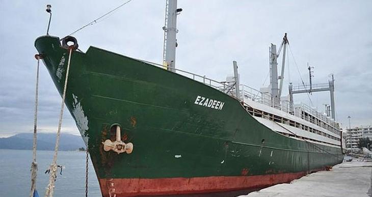 Mülteci taşınan gemilerde mühimmat da taşınmış