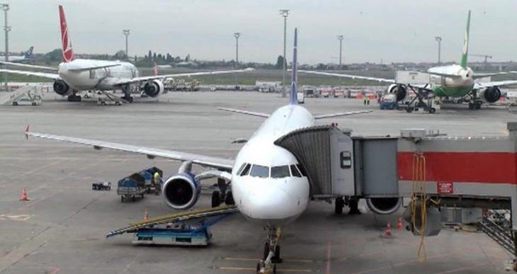 Larnaka'dan kalkan uçak İstanbul'a acil iniş yaptı