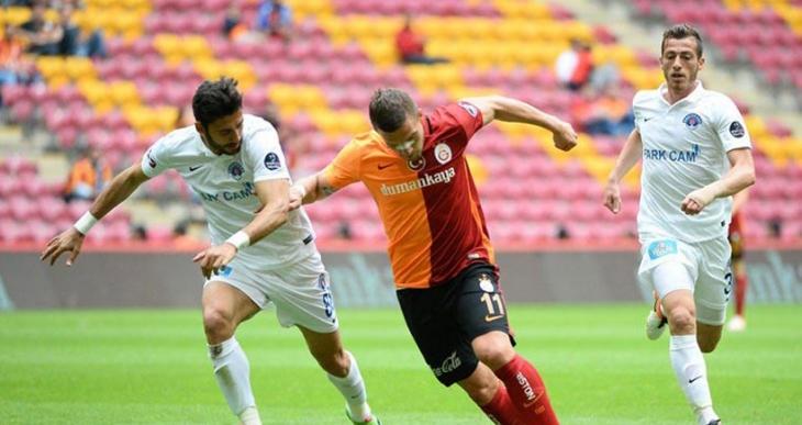 Galatasaray, Kasımpaşa engelini 4 golle geçti