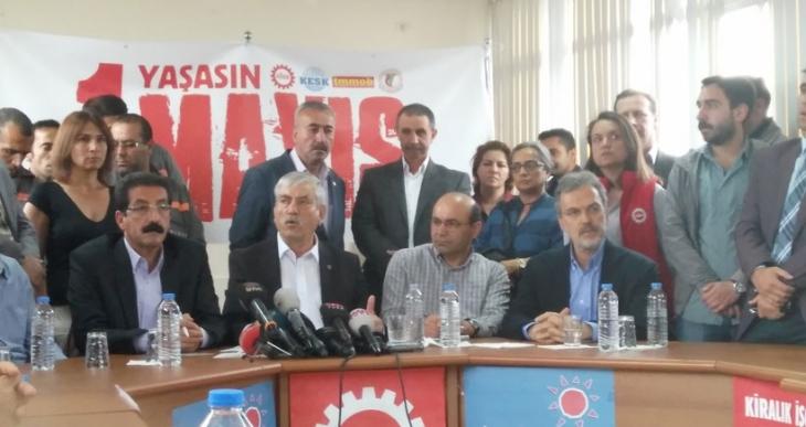 İstanbul'da emekçiler 1 Mayıs'ı Bakırköy'de kutlayacak