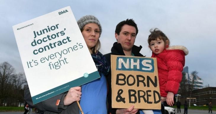 İngiltere'de pratisyen doktorlar yine grevde!
