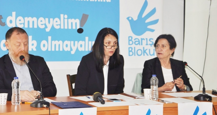 Barış Bloku:  AKP'nin dokunulmazlık teklifini reddedin