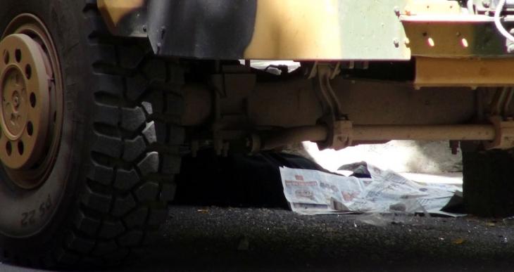 Diyarbakır'da zırhlı aracın çarptığı kadın öldü