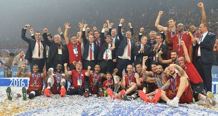 Galatasaray Odeabank Eurocup'ta şampiyon oldu