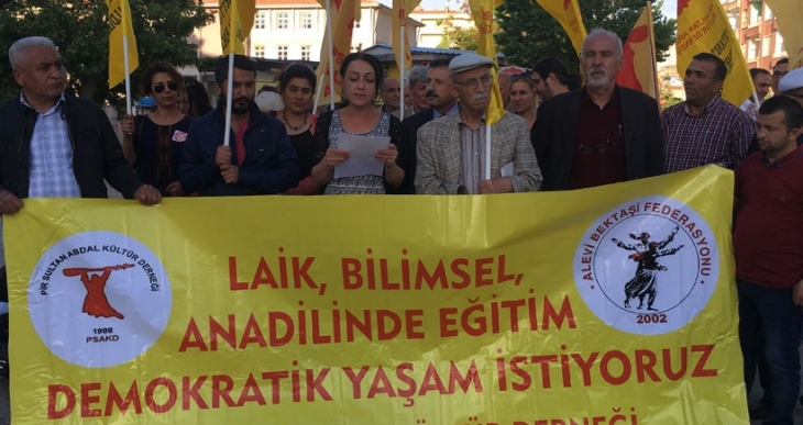 Malatya PSKAD: Şeriatçı ve halifeliğe dayalı anayasaya hayır