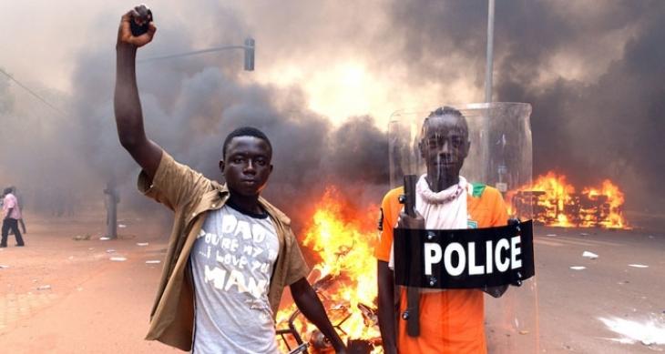 'Burkina Faso emekçileri politik sahneye girmiştir'