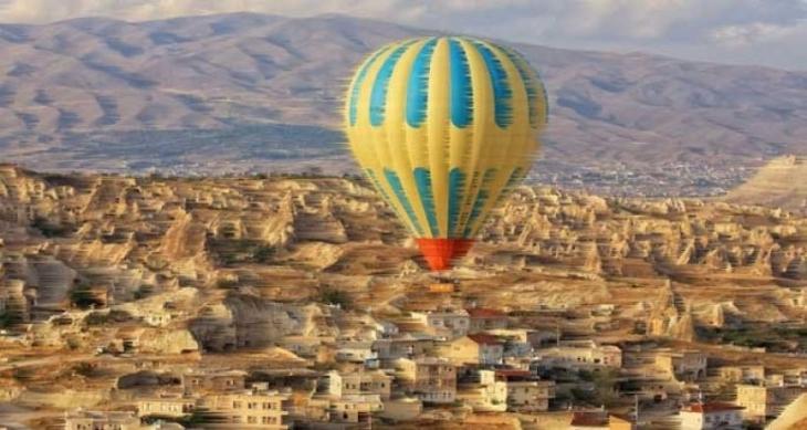Kapadokya'da balon kazası: 8 turist yaralandı