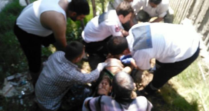 İşçi ölümden döndü, haberi izleyen muhabirimize şirket yetkilisi saldırdı