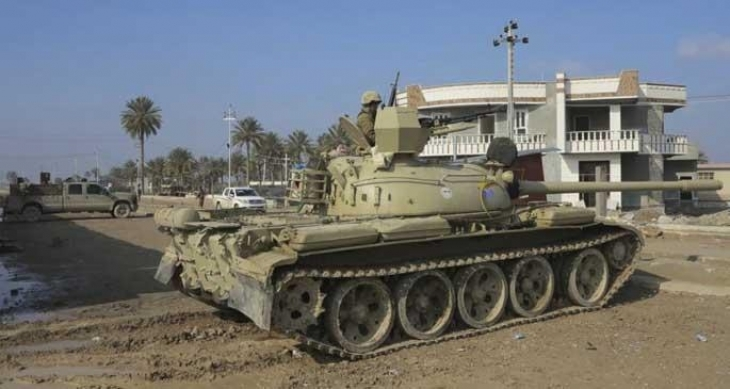 Irak ordusu Anbar'a operasyon düzenledi