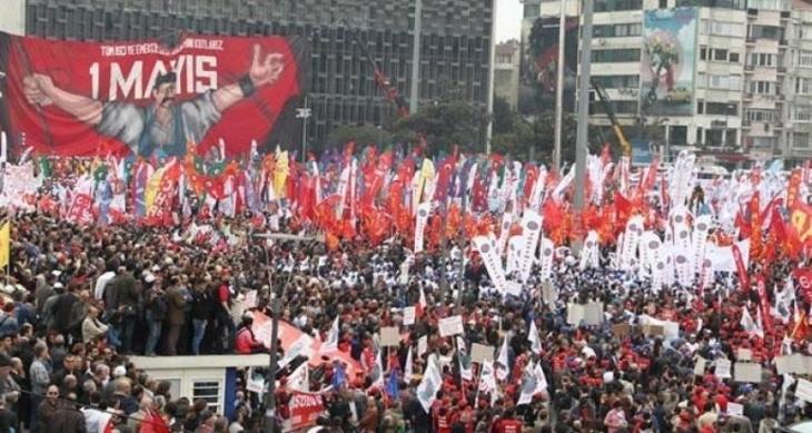 Taksim'de eylem yapmak yine yasak!