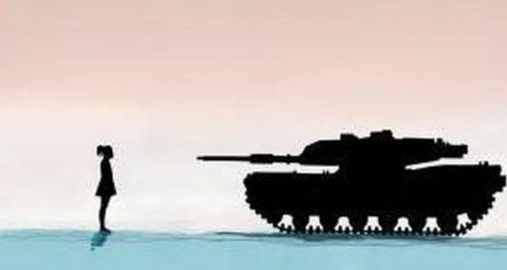 Daha fazla kadın, daha az militarizm