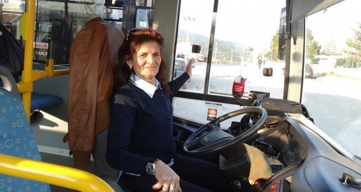 Bolu'nun tek kadın şoförü