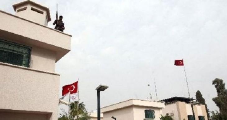 IŞİD işgali altındaki Musul'da Türkiye Başkonsolosluğu vuruldu