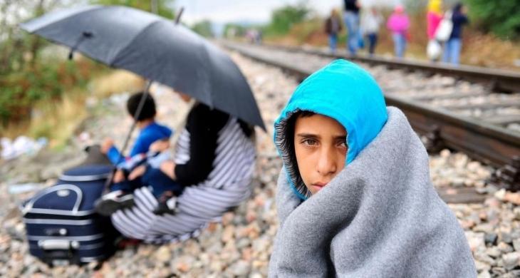 Bir çocuğun gözüyle mülteci krizi