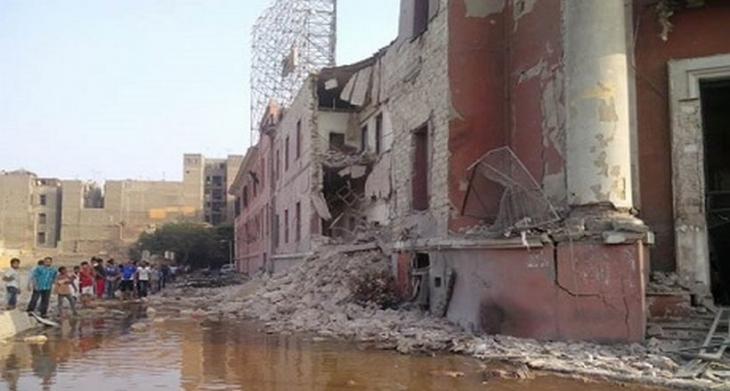 Kahire'de İtalyan Konsolosluğu önünde bombalı saldırı
