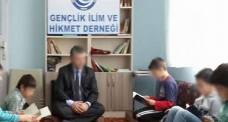 İslami dernek başkanı tecavüzden tutuklandı