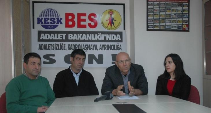 BES'ten kadrolaşma tepkisi: Adalet Bakanlığı adaletsizliğin adresi oldu