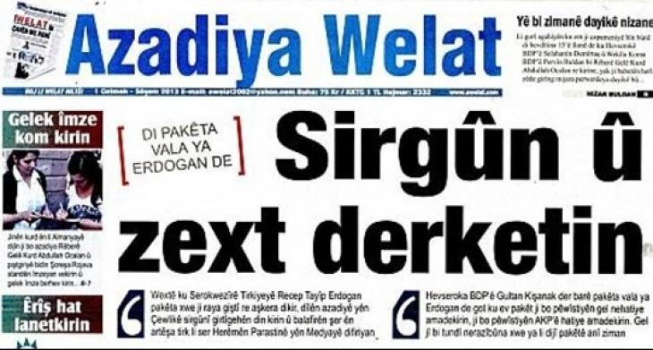 Azadiya Welat muhabiri gözaltında