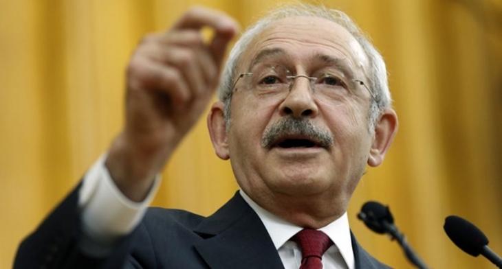 Kılıçdaroğlu: Safını belirlemesi gereken dış politikada Erdoğan'ın çıkarlarını düşünen Davutoğlu'dur