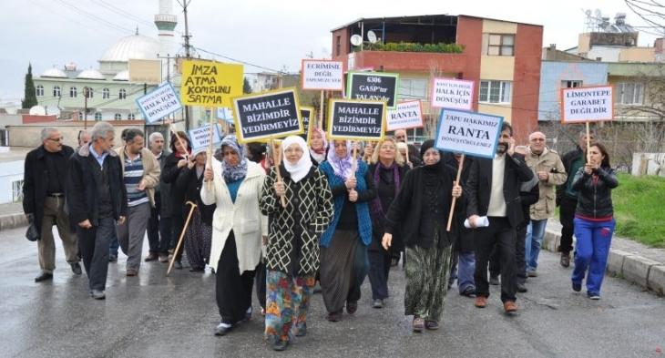 Karabağlar'da zorla kentsel dönüşüm