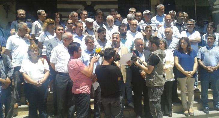 Diyarbakır'dan ortak ses: Tecrit, işgal ve katliama hayır