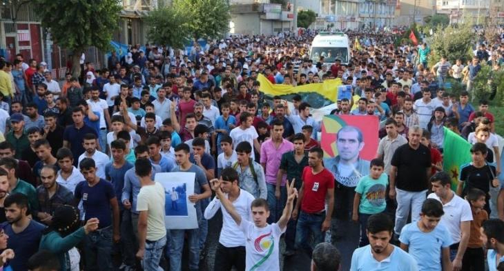 Polis tarafından katledilen Özdal'ın cenazesi toprağa verildi