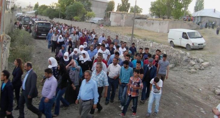 Ağrı'da bir evde katledilen Yaşar kardeşler toprağa verildi