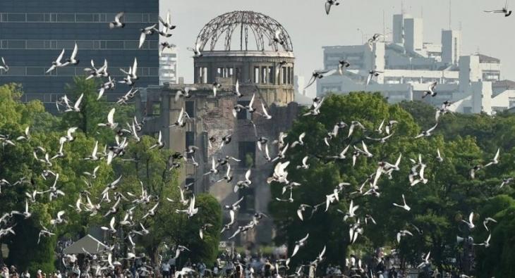 Hiroşima'da öleli oluyor bir 70 yıl kadar