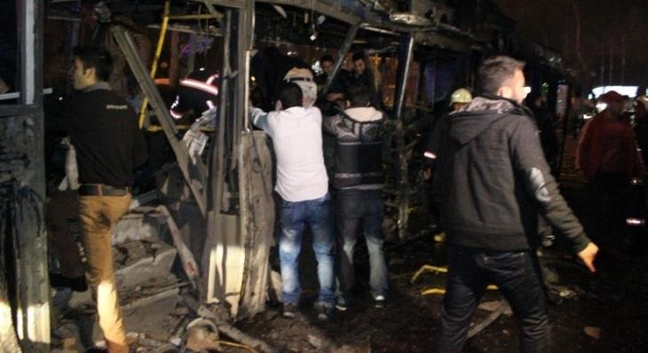 Kızılay'daki katliam sonrası gözaltına alınanlar adliyeye sevk edildi