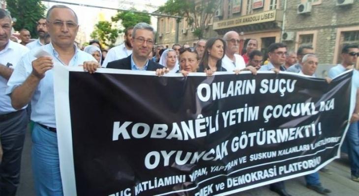 HDP'li Öz: AKP, IŞİD'le arasına mesafe koysun