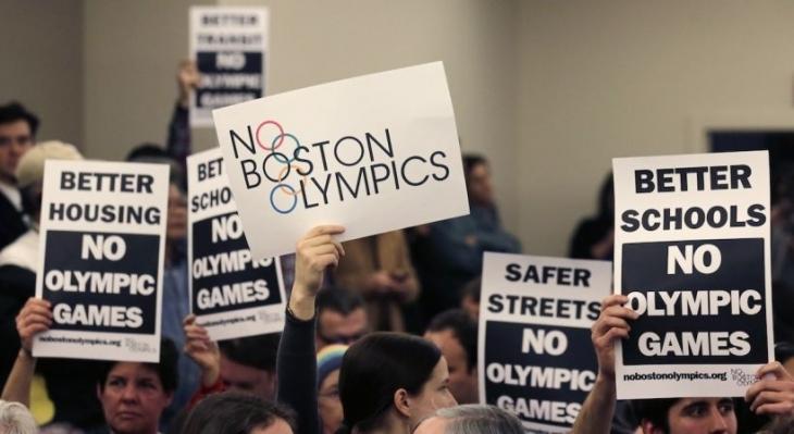 'Olimpiyata değil halka bütçe' diyenler kazandı: Boston 2024 adaylığı iptal
