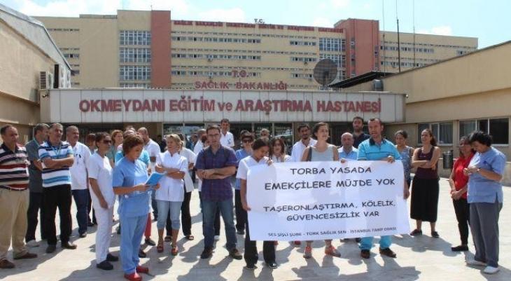 Okmeydanı Hastanesi emekçileri Bakırköy'de olacak