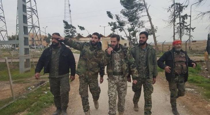 Suriye ordusu, Rakka kırsalında ilerliyor