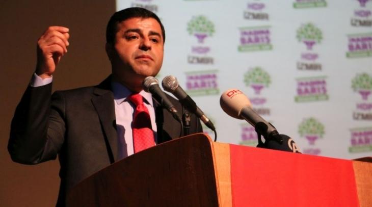 Demirtaş başkanlığındaki HDP heyeti ABD'ye gitti